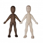 4. LaLa Wooden Story WOODEN DOLL W B