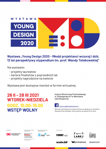 LDF2021 Young Design plakat