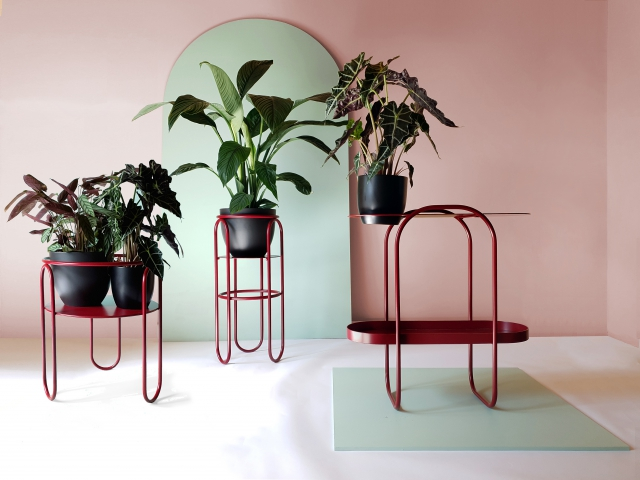 Bujnie BONBON collection Plant stands Tondo Milo Doppi